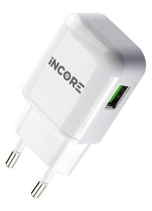 Сетевое зарядное устройство, адаптер питания INCORE USB TRAVEL CH