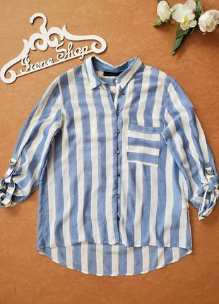 Фирменная рубашка zara, размер м