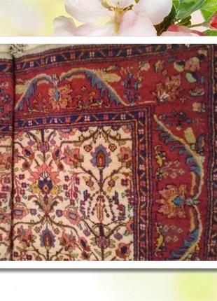 Персицкий шерстяной ковер размеры 3,5х2,75
