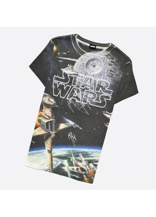 Star wars m / мужская футболка полностью в принт