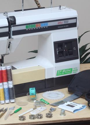 Швейная машина Elna Lotus 1000 Япония - Гарантия 6мес