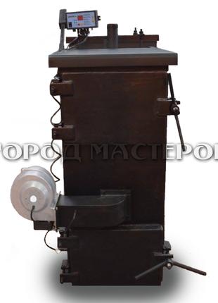 Продам твердотопливный пиролизный котел 20 кВт.