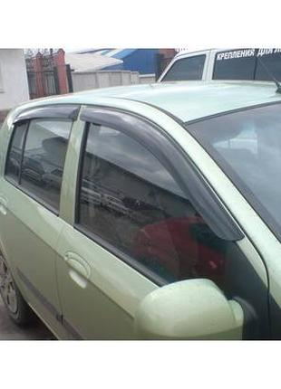 Дефлекторы окон Hyundai Getz 2002-2011 - HIC