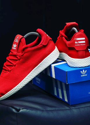Кроссовочки: Adidas x pharrell williams tennis hu primeknit
