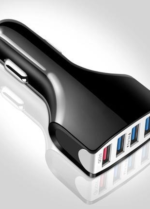 USB Qualcomm 3.0, 4 Порта - Быстрое Зарядное Устройство в Машину