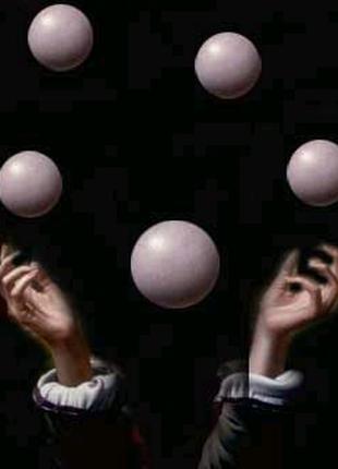 Уроки жонглирования и баланса! Обучает профессионал.