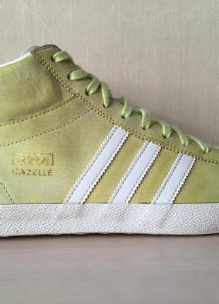 Кроссовки adidas originals gazelle og mid ef glow оригинал кеды