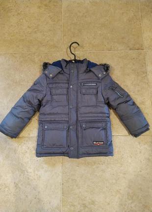 Пуховик, куртка на мальчика, 3 года