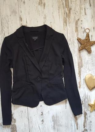 Нарядный пиджак с шифоновыми вставками , руковами