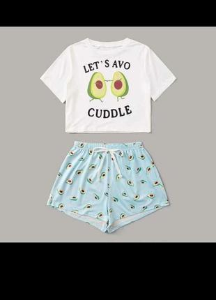 Принтованая пижама