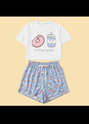 Пижама принт