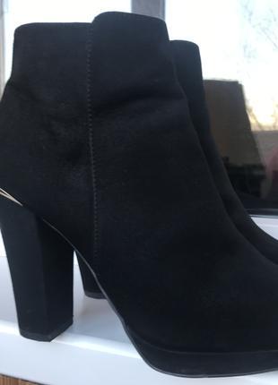 Ботильоны женские New Look чёрный,39 размер.