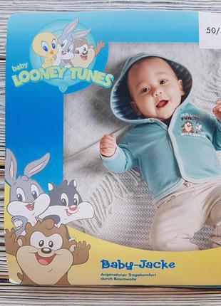 Кофта с капюшоном для новорожденного lidl