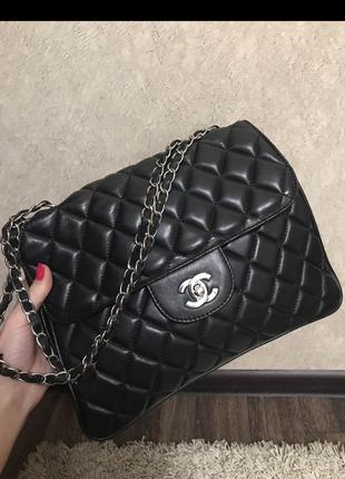 Сумка клатч кожа кожаный Chanel