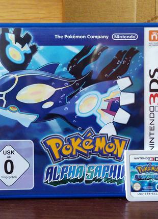 Гра Pokémon Alpha Sapphire PAL для Nintendo 2DS / 3DS / 3DS XL