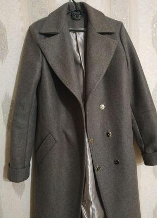Пальто деми р.м цвет мокко