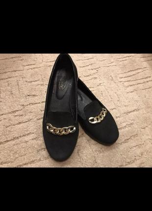 Стильные лоферы туфли замш натуральный