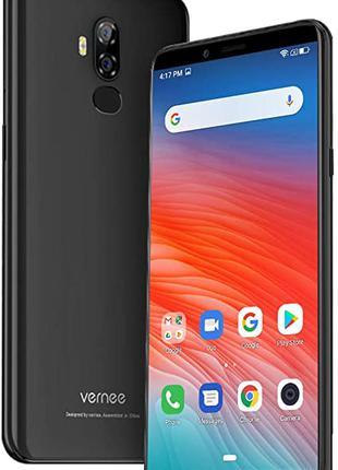 Мобильный телефон (смартфон) Vernee X2 Black 3/32GB +ПОДАРОК