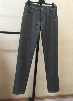 Штаны richard j brown шерсть неполированная италия брюки