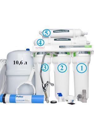 Фильтр для очистки воды. Обратный осмос.