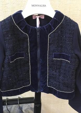 Кофта monnalisa оригинал италия свитер