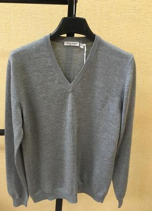 Свитер gran sasso оригинал италия пуловер