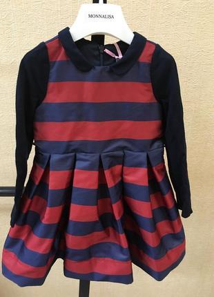 Платье monnalisa оригинал италич