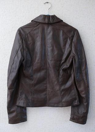 Кожаная куртка kor@kor (италия)