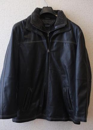 Утепленная длинная кожаная куртка, babista (германия)