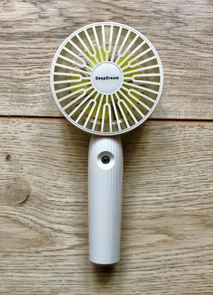 Портативний вентилятор, ручной портативный на аккумуляторах