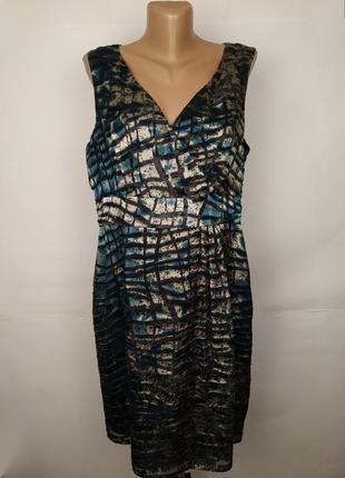 Платье стильное легкое шелковое monsoon uk 16/44/xl