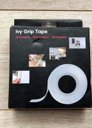 Многоразовая Крепежная Лента Ivy Grip Tape (1 Метр), скорт, стріч