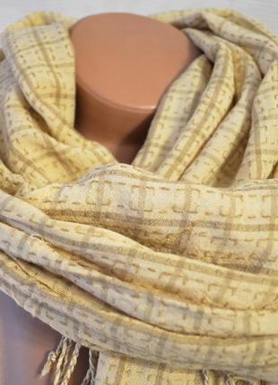 Палантин шарф нежный тонкий