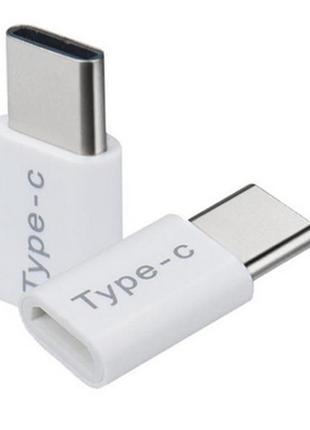 Адаптер Micro USB/Type-C