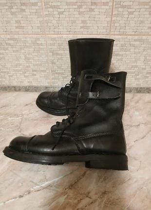 Ботинки свиная кожа, жесткий носок, обувь в распродаже