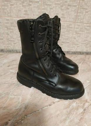 Ботинки высокопрочные франция, с защитой, (экип), летняя цена!