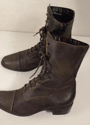 Ботинки весенние tamaris, снижена цена на брендовую обувь