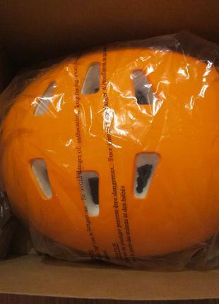 Велосипедный шлем Оранжевый размер XXL