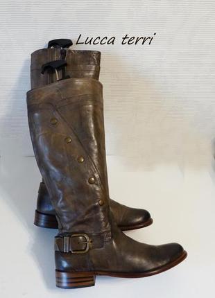 Сапоги  женские олива италия брендовая обувь и веши по низкой ...