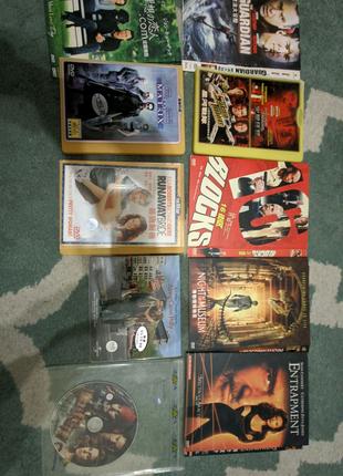 Коллекция DVD фильмов на английском