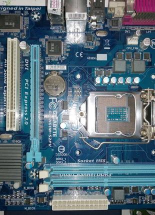 Материнская плата Gigabyte GA-H61M-S2PV (s1155, Intel H61, PCI-Ex