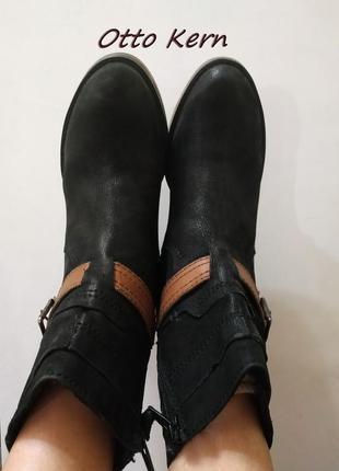 Ботинки, полу сапожки otto kern (германия), брендовая обувь по...