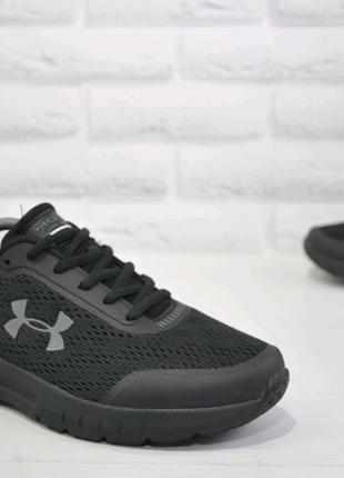 Мужские кроссовки Under Armour Hovr черные мужские кроссовки