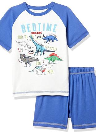 Пижама с динозаврами футболка и шорты mothercare