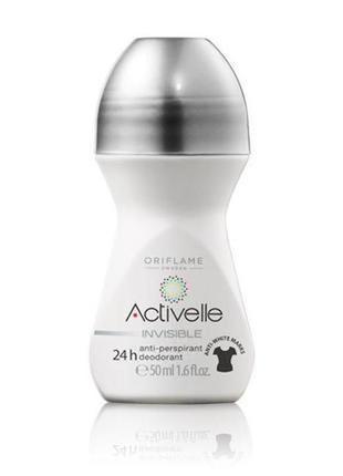 Шариковый дезодорант-антиперспирант без белых следов activelle