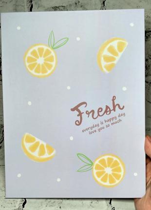 Зеркало настольное, дорожное раскладное лимон