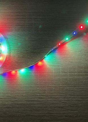 Светодиоидная RGB лента 5м управление телефон и пульт