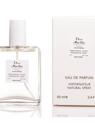 50 мл мини-парфюм тестер miss dior blooming bouquet