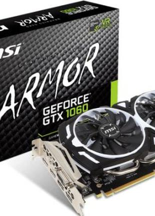 Видеокарта MSI GeForce GTX 1060 6GB GDDR5 (GTX 1060 ARMOR 6G OCV1