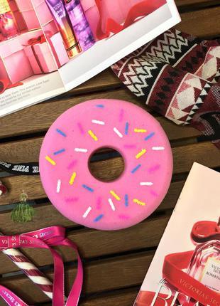 Мочалка для душа пончик pink bubble babes sponges